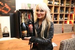 heavy metal queen Doro Pesch unveils signature champagne & wine 1