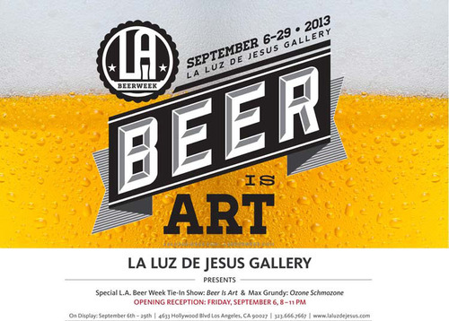 BEER IS ART (THE COASTER SHOW)