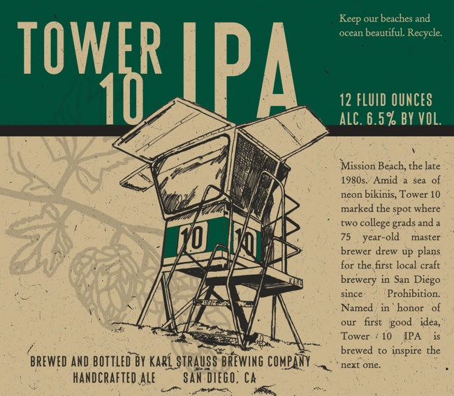 Beer Review: 'Tower 10 IPA' by Karl Strauss