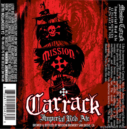 Beer Review: Carrack by Mission Brewery