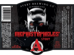 Avery Mephistopheles Stout batch No. 9 releases Friday the 13th 1