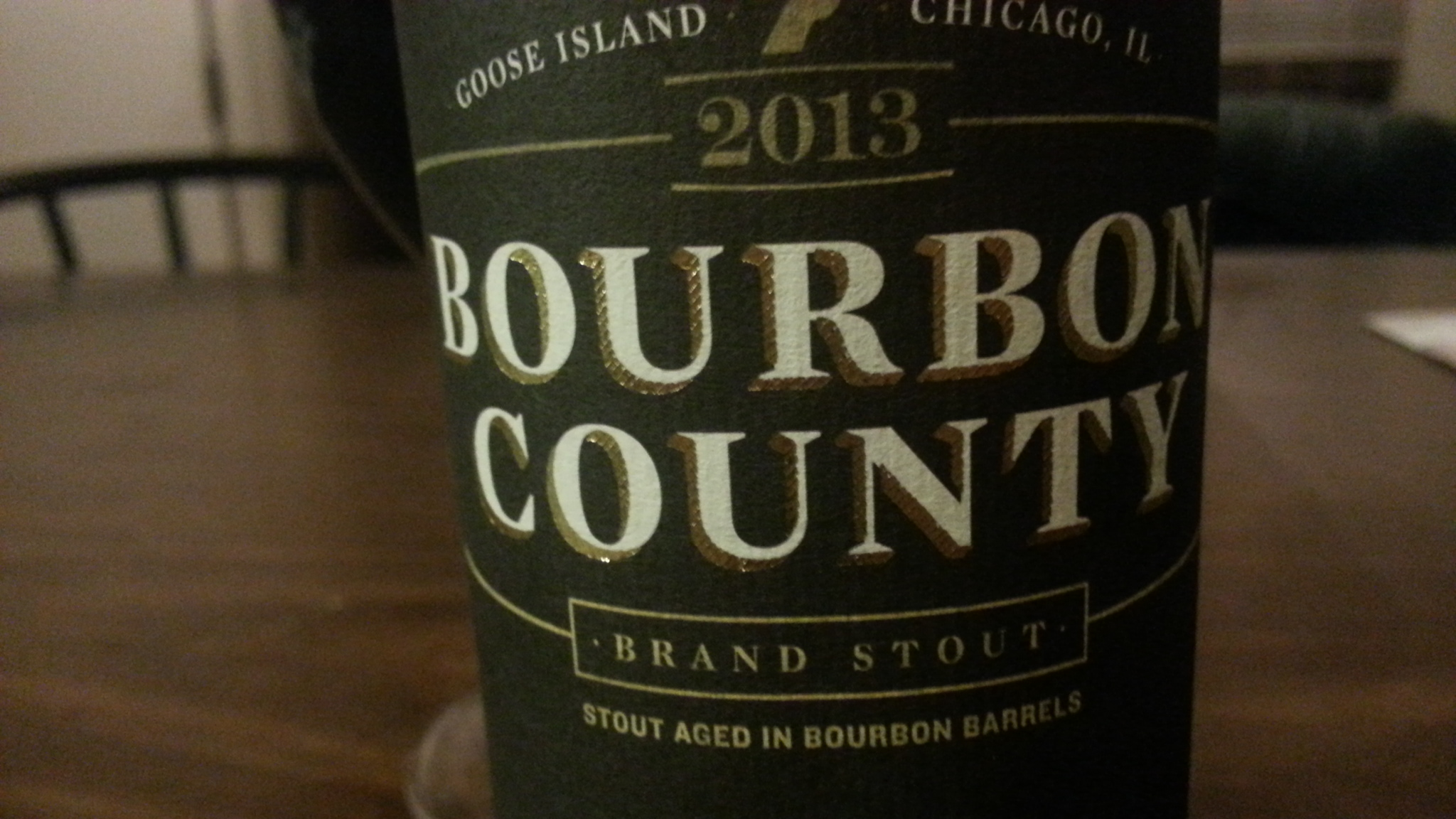 Goose Island Bourbon County Stout 2013 Review