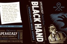 Speakeasy Black Hand Chocolate Milk Stout out in January