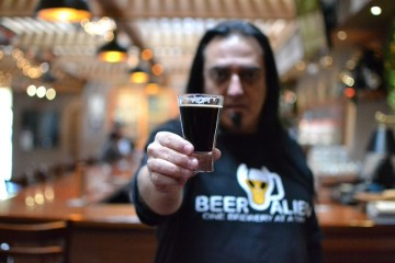 Coronado brewing Co Tasting room review