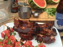 Beer Soaked ribs
