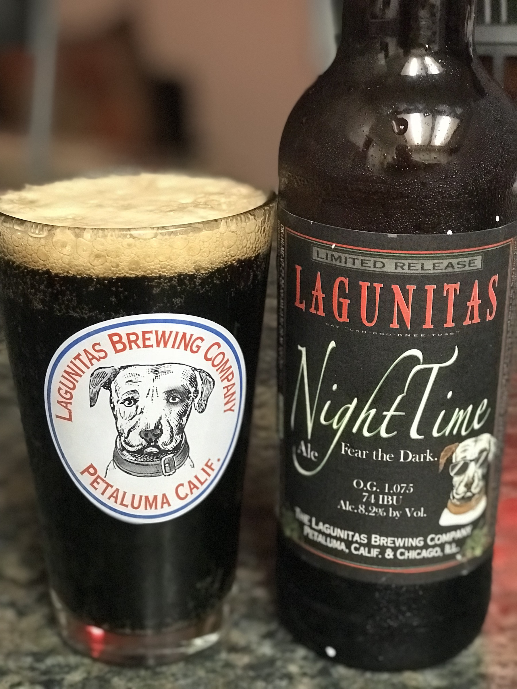 NightTime Ale by Lagunitas Brewing Company