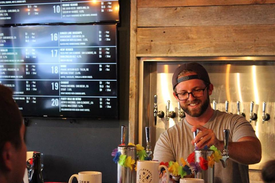 Behind the Bar: Kolton Kenyon of Bottlecraft Solana Beach