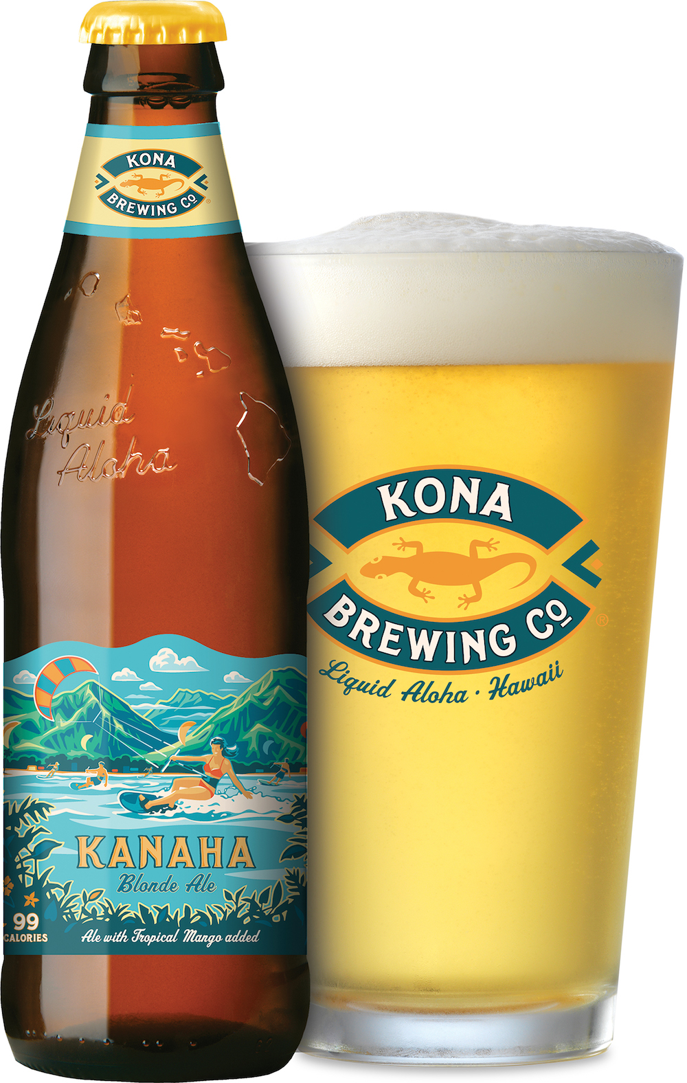 Kona Brewing Company Announced Nationwide Availability for Kanaha Blonde Ale