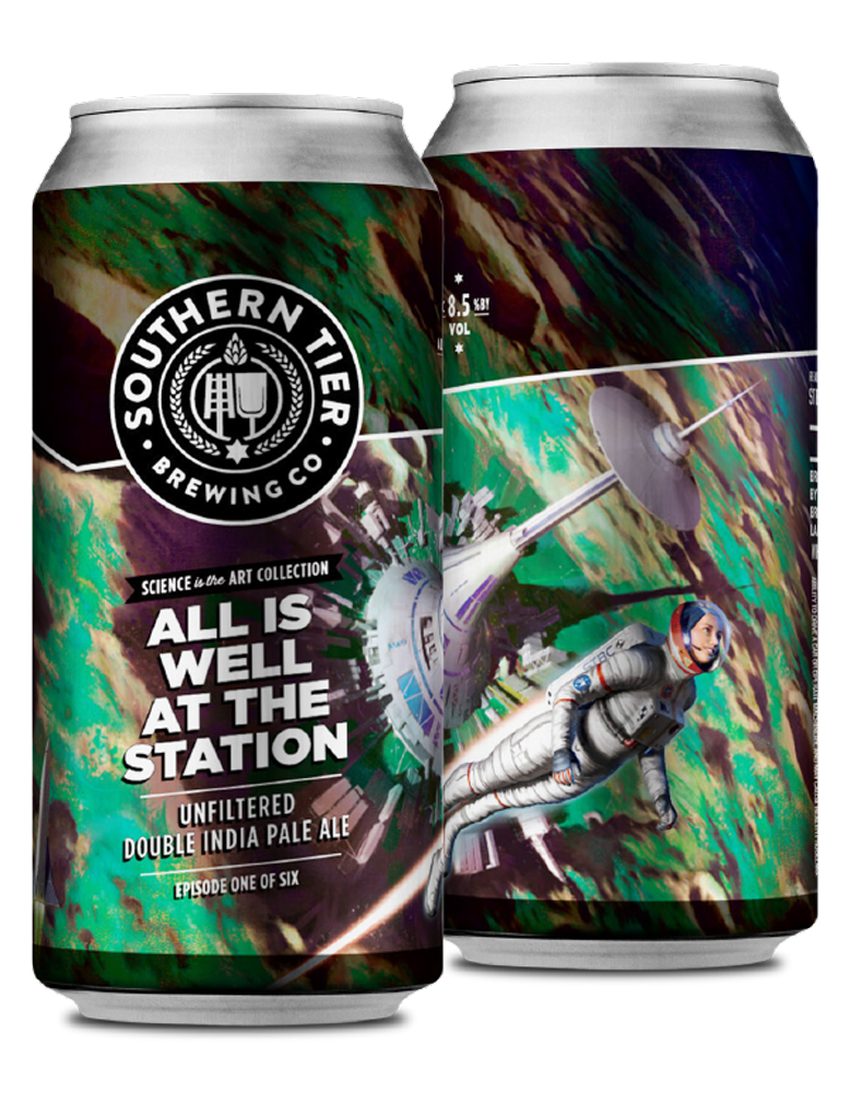 Southern Tier Brewing Company Combines Science For New Double IPA Collection
