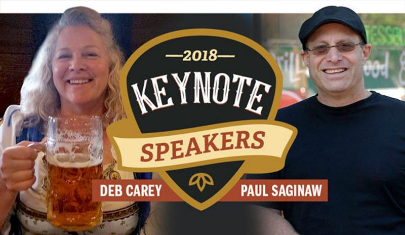 Keynote Speakers Announced for 2018 Craft Brewers Conference