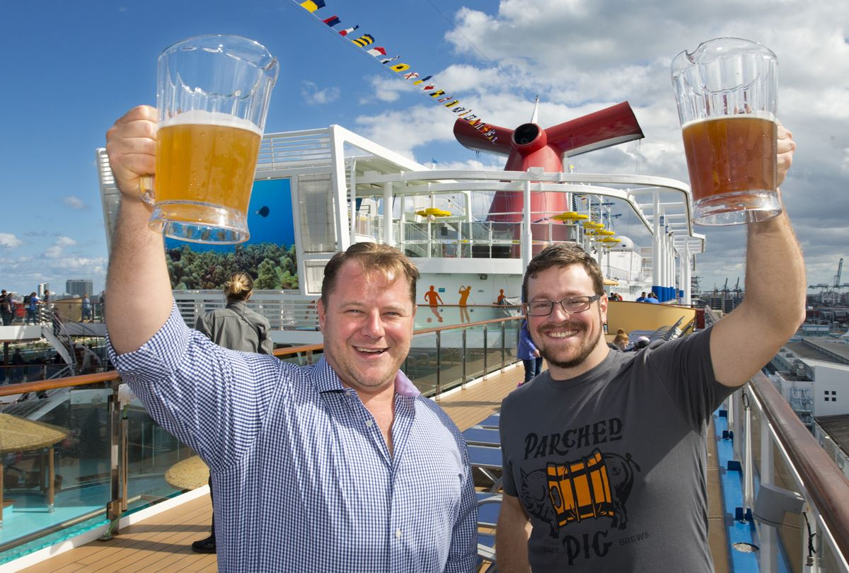 Carnival Cruise Line Announces Four New Craft Beers To Debut On Carnival Horizon's Onboard Brewery