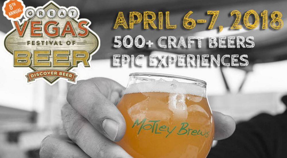 Motley Brews 8th annual Great Vegas Festival of Beer April 2018