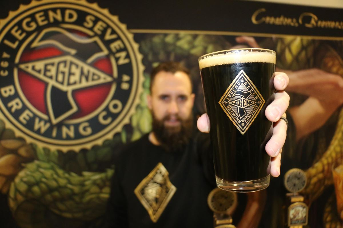 Calgary's Legend 7 Brewing Serves up Beer with a Backstory