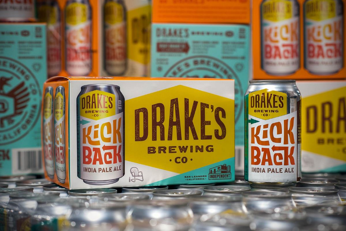 Drake's Debuts its First Packaged Beer in Cans with the Year Round Release of Kick Back IPA