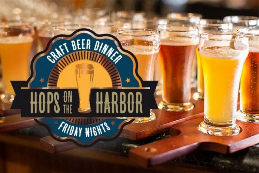Iron Fist Brewing harbor cruises every Friday in April