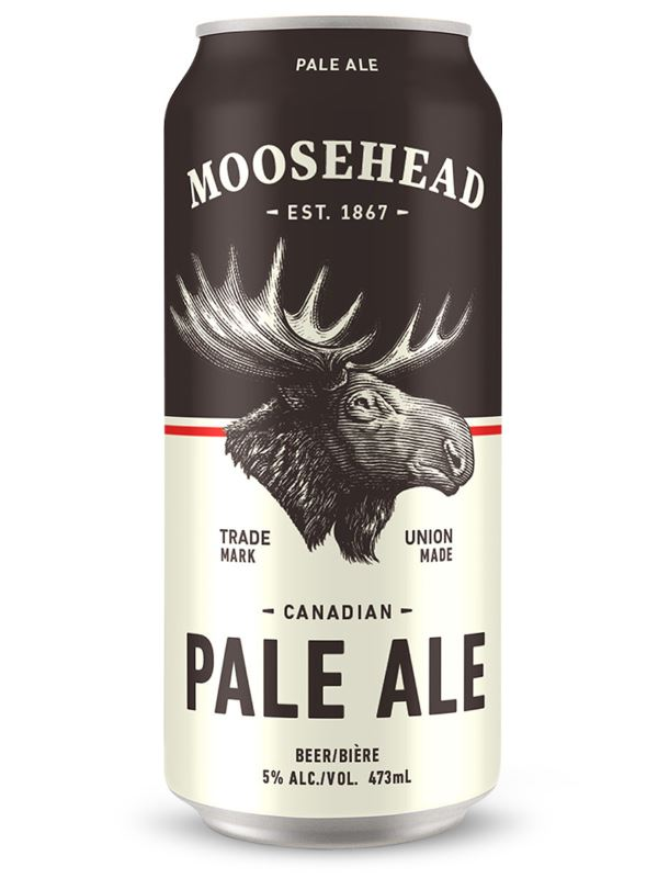 Moosehead Pale Ale Can Image