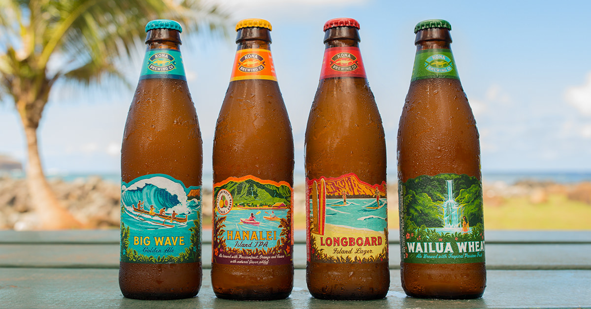 Kona Brewing Company Announces Partnership with AVP Tour