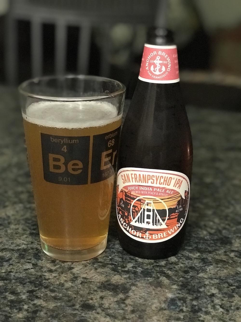 San Franpsycho IPA by Anchor Brewing Company