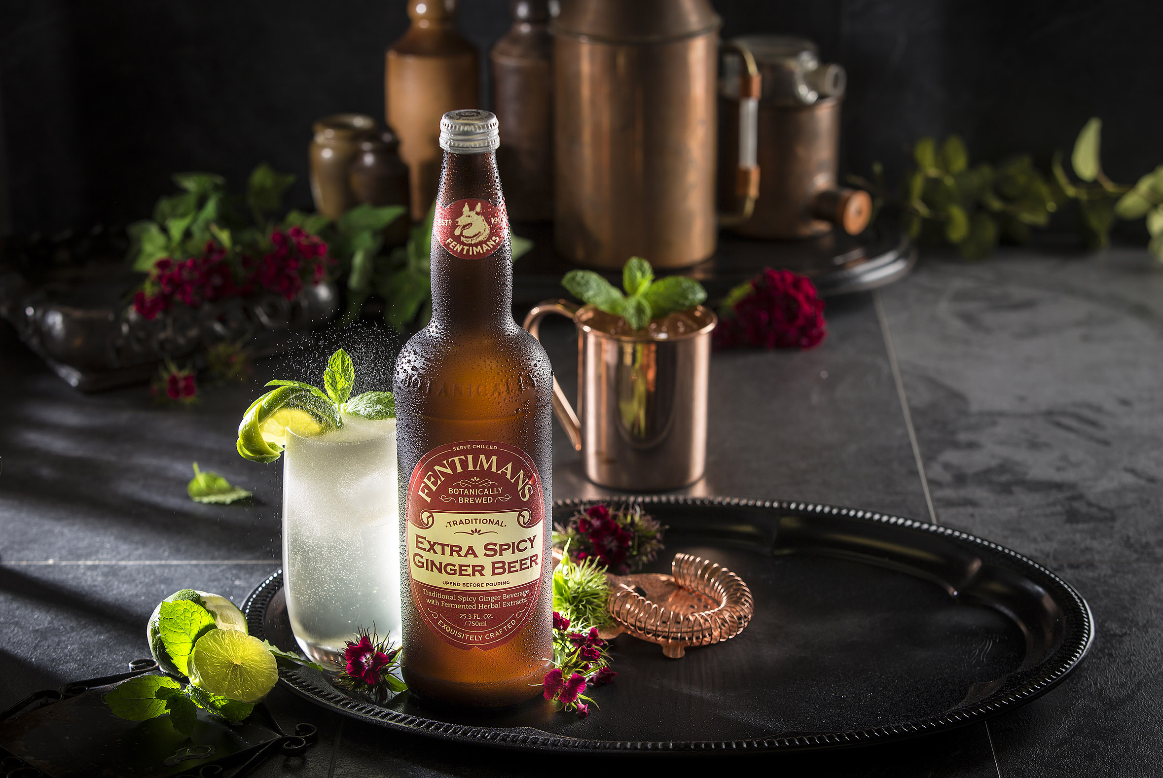 Fentimans British Botanically Brewed Soda and Mixers At Bar Convent Brooklyn