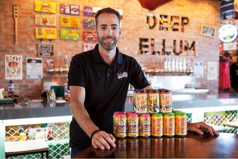 Deep Ellum Brewing Company Joins CANarchy Craft Brewery Collective
