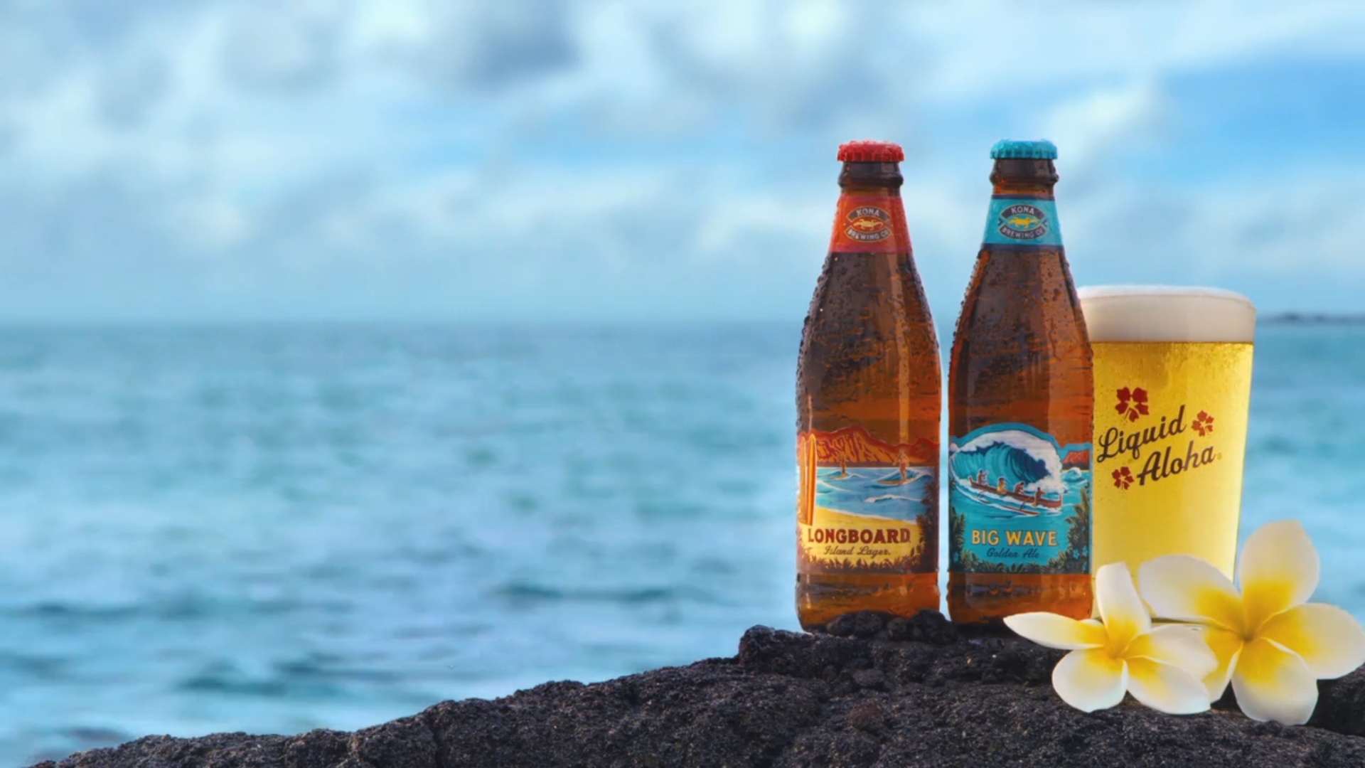 Aloha! Kona Brewing Big Wave & Longboard Now Available In 18pk cans in HI