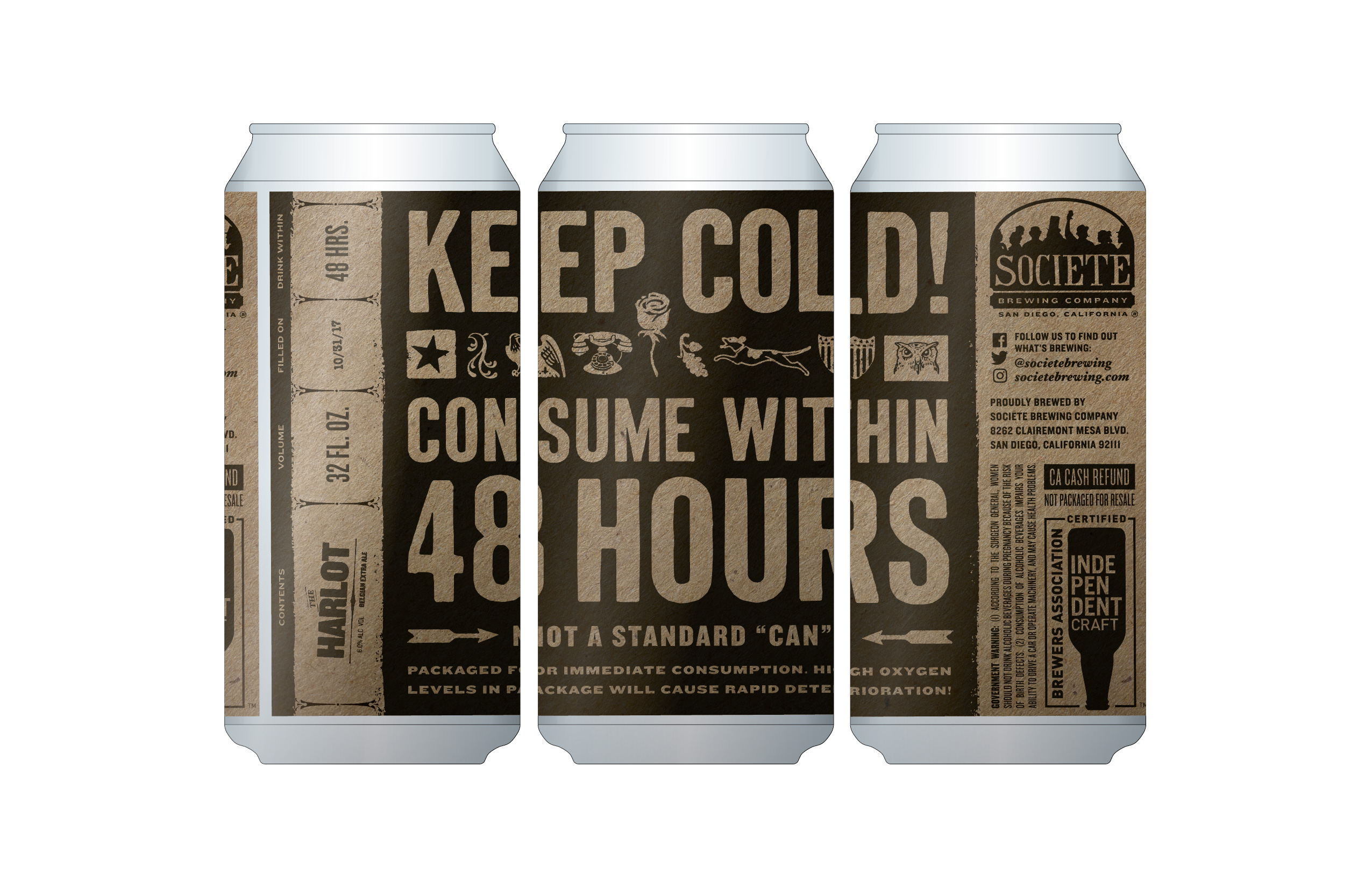Societe Brewing S 6th Anniversary New Beer Amp Crowlers