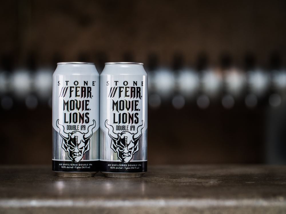 Stone Brewing's First What3Words named Beer ///Fear.Movie.Lions Available Nationwide