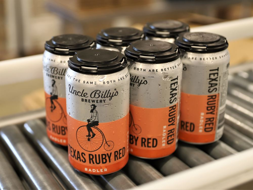 Uncle Billy's Brewery Introduces Texas Ruby Red Radler