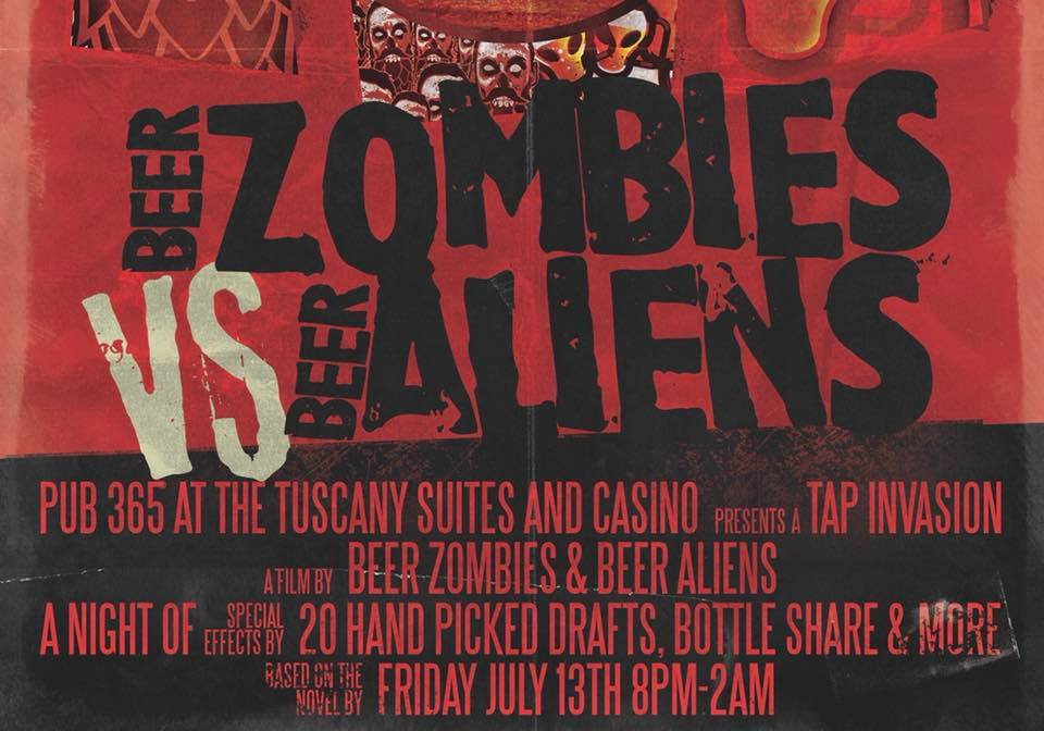 Beer aliens vs beer zombies