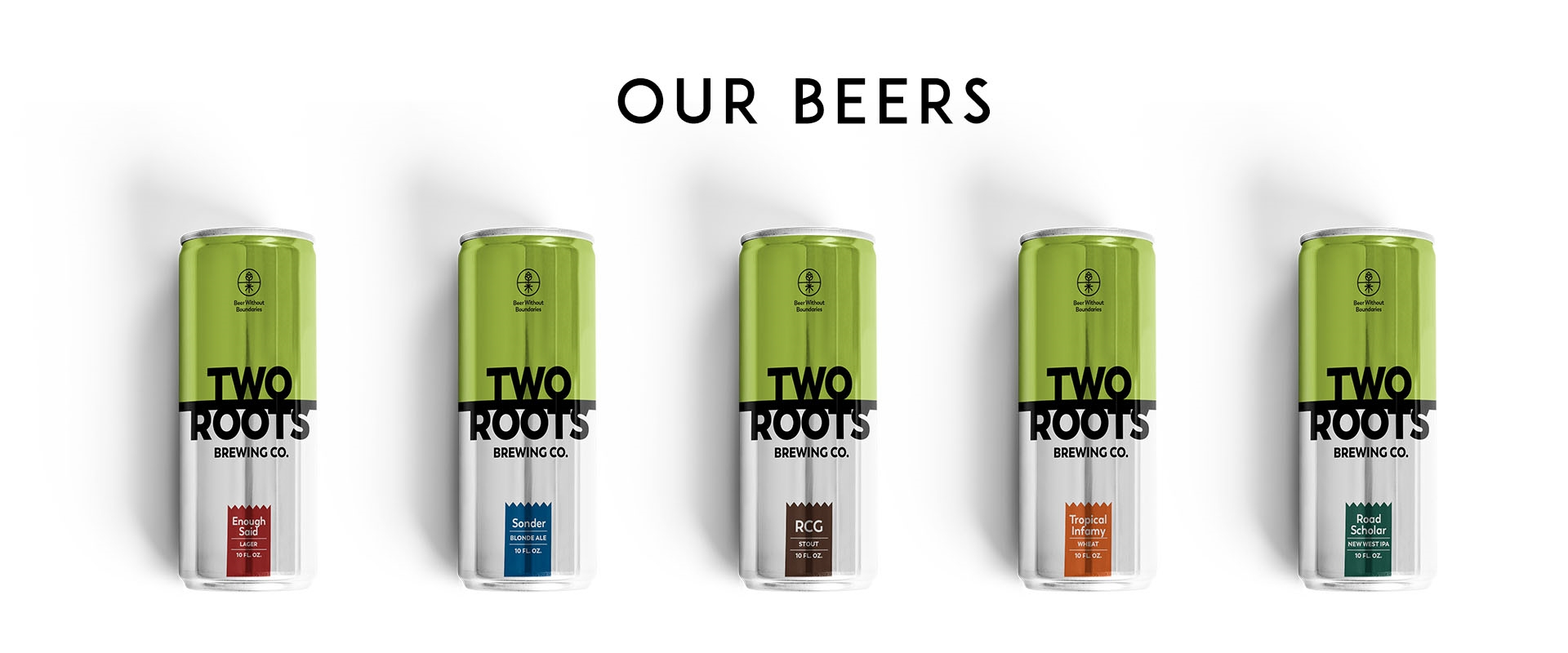 Two Roots beers