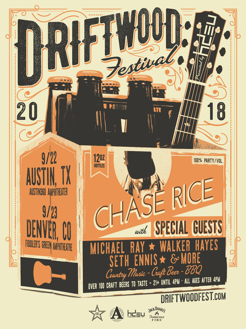 Driftwood Country Music, Craft Beer & BBQ Festival Expands To Austin And Denver