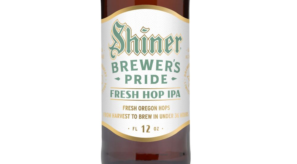 Shiner Adds To Signature Brewer's Pride Series With A Fresh Hop IPA