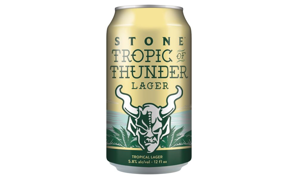 Stone Brewing Sails into 2019 with a Bold Tropical Lager