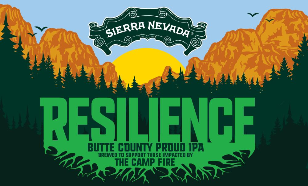 Sierra Nevada Brewing to brew Resilience IPA for Camp Fire Relief