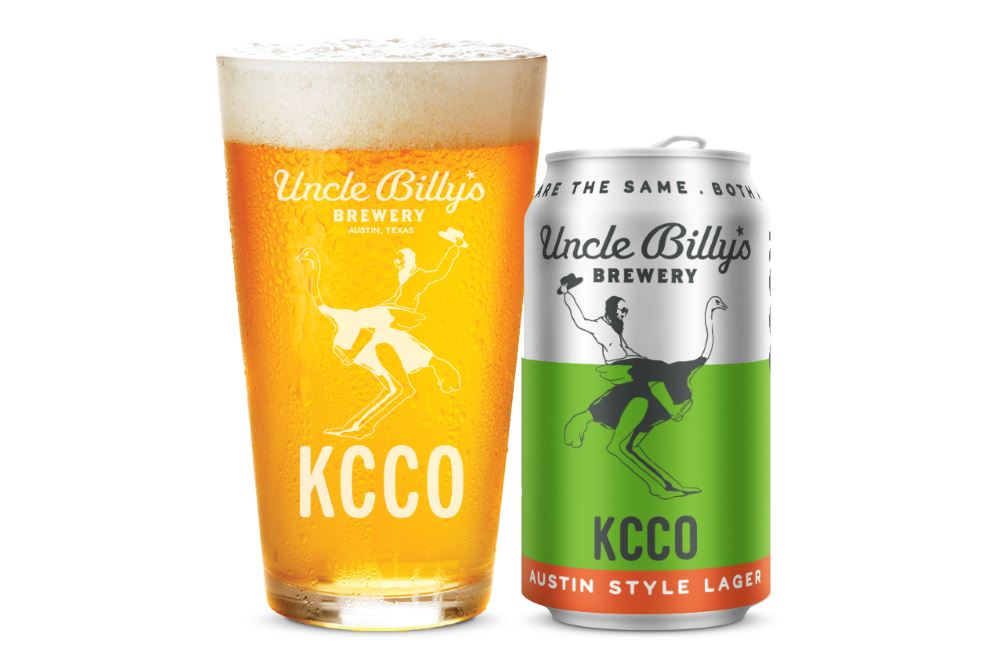 UNCLE BILLY'S BREWERY and theCHIVE Release KCCO Austin-Style Lager
