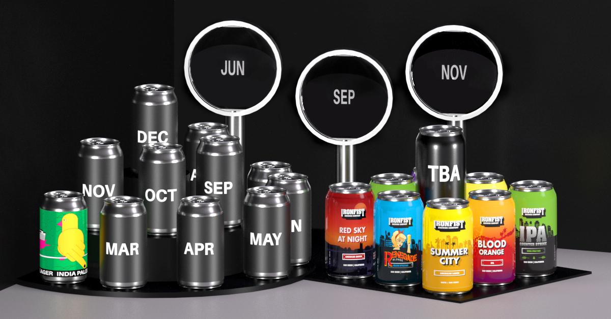 Iron Fist Beer Schedule
