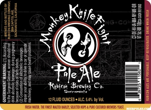 Tower Brewing Presents the Return of Monkey Knife Fight Pale Ale