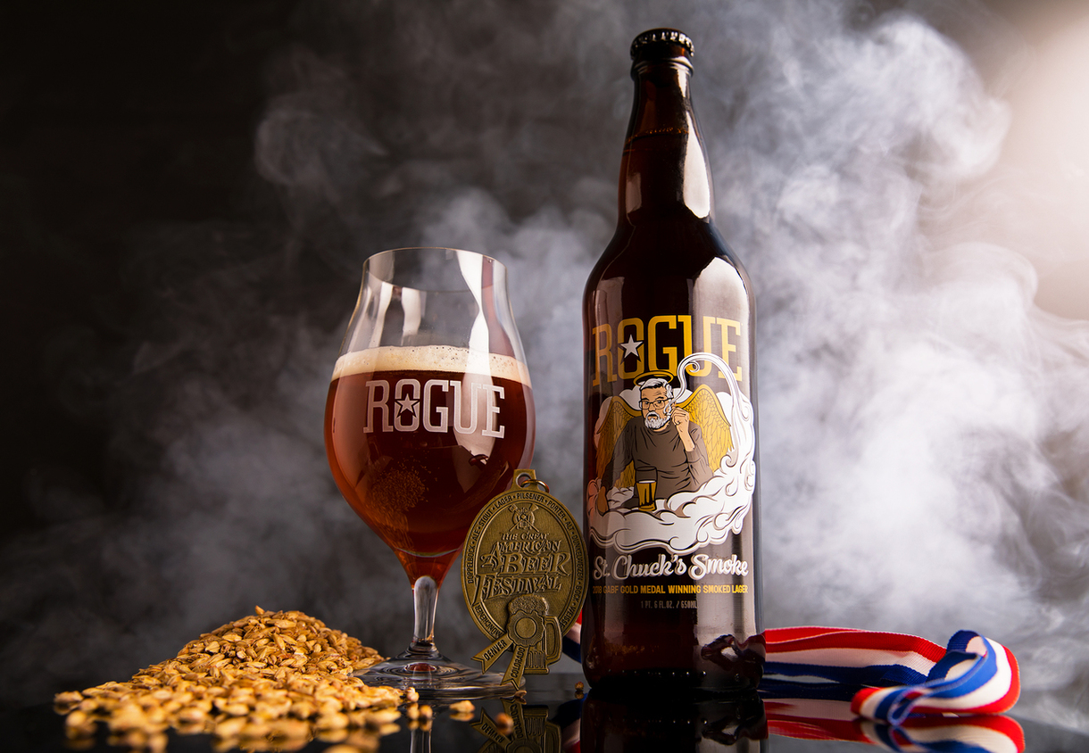 Smoke on the Bottle: Rogue Ales Introduces St. Chuck's Smoke