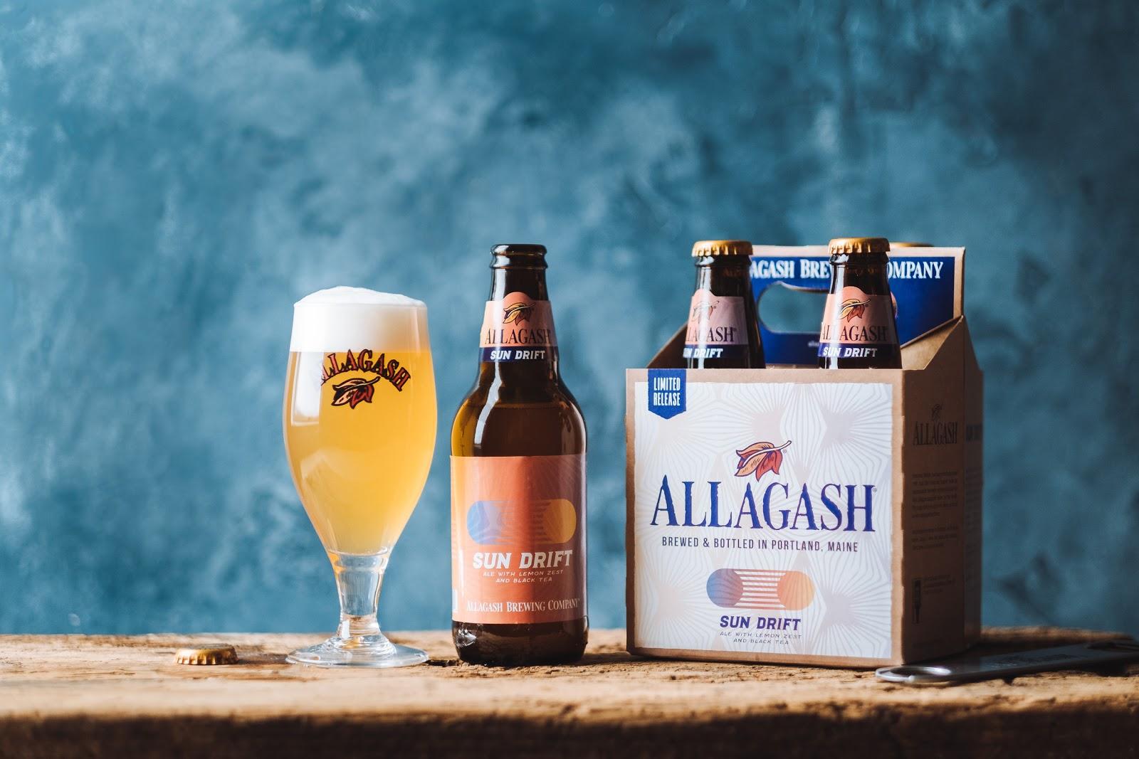 Allagash Brewing Co. Releases Sun Drift, A Tea Beer