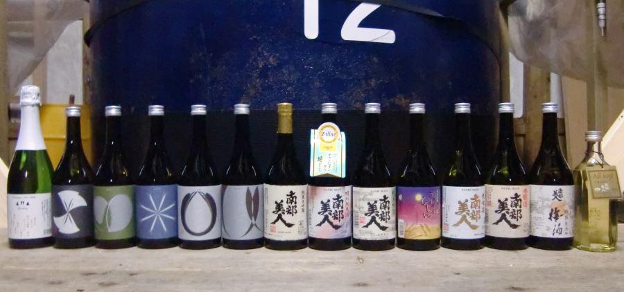 nanbu_bijin_sake_lineup