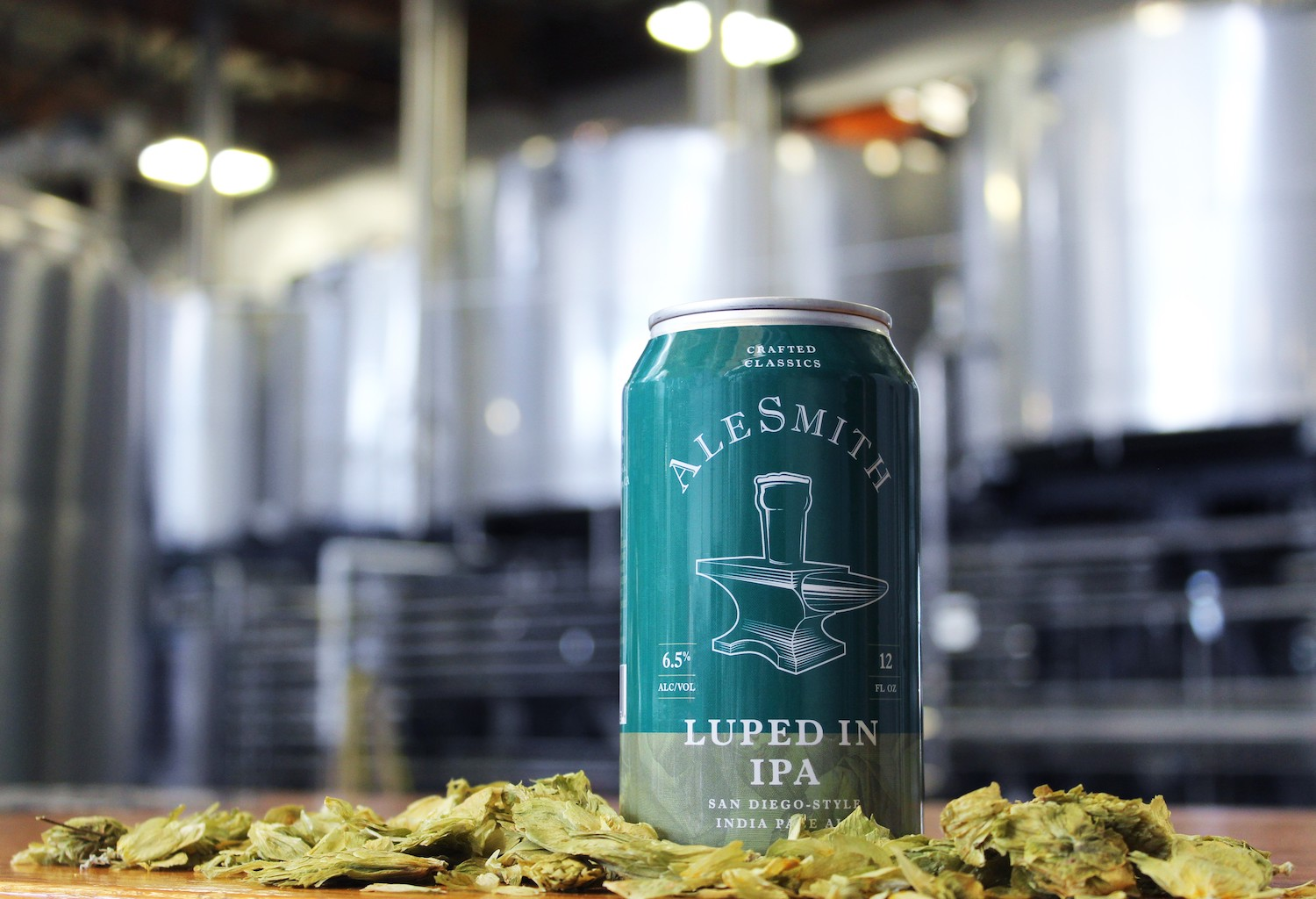 "AleSmith Brewing To Release ""Luped In IPA"" In April"