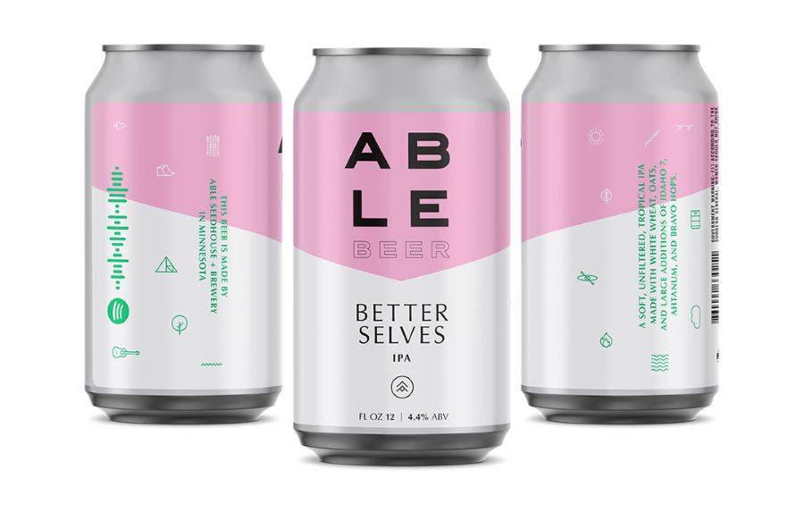 ABLE Seedhouse and Brewery to release Better Selves unfiltered IPA March 29