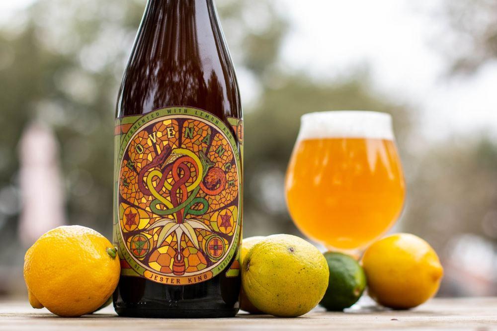 Jester King Provenance Lemon Lime Batch 6 releases Mar 14