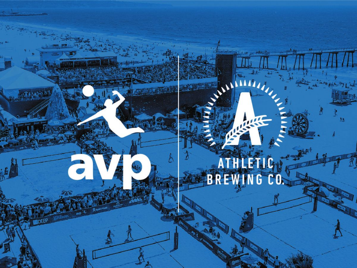 Athletic Brewing Co. Sponsors Pro Beach Volleyball Tour
