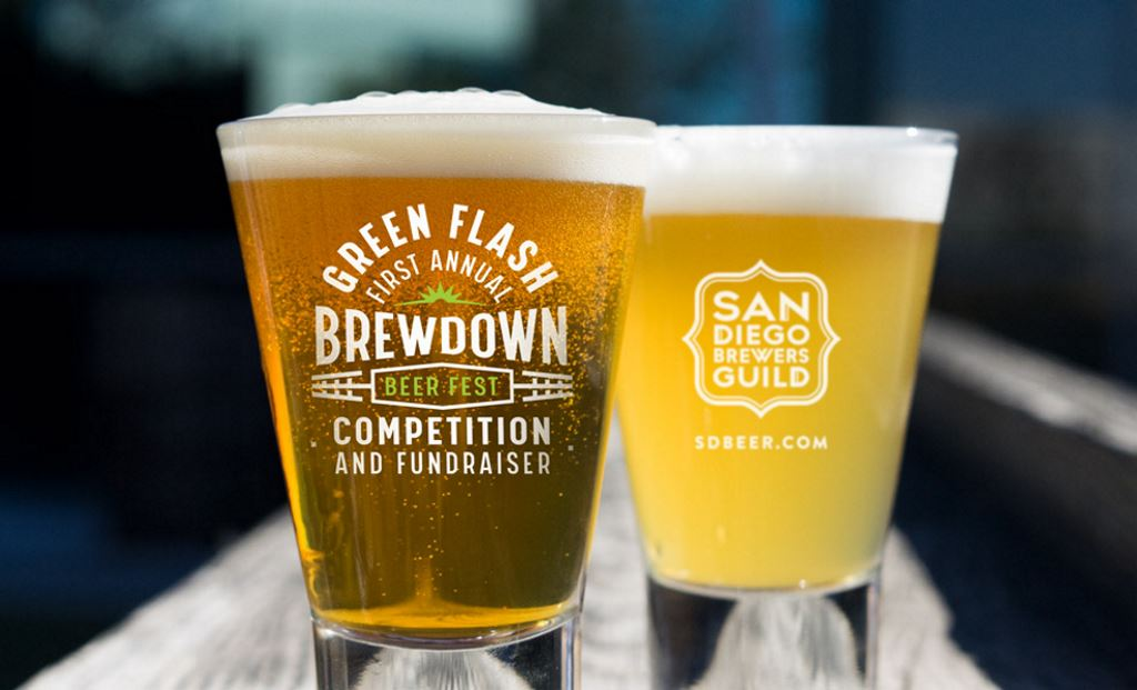Green Flash First Annual Brewdown Beer Competition & Festival is April 13