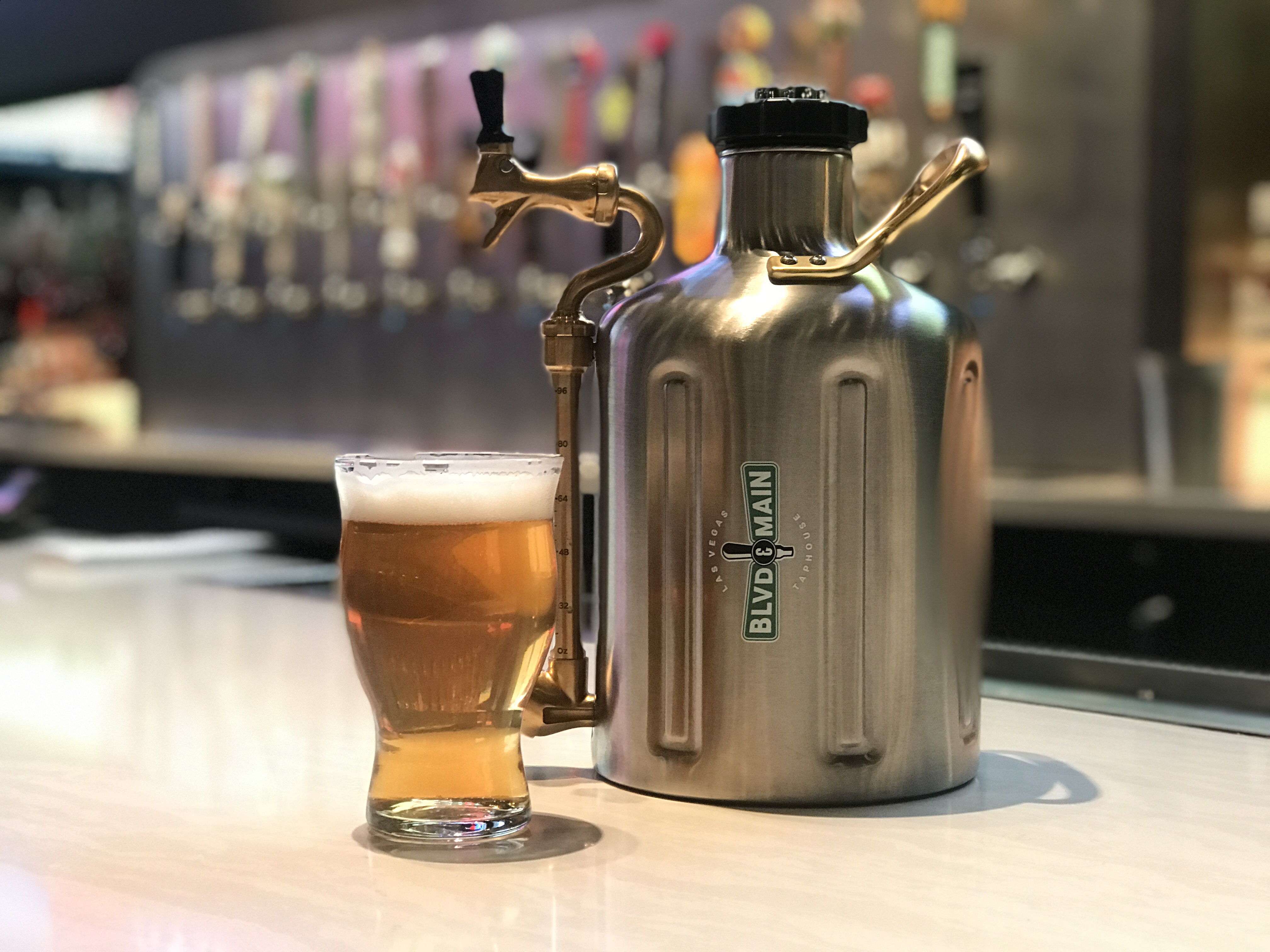 BLVD & MAIN Taphouse at The STRAT Hotel Introduces Table-side Growlers