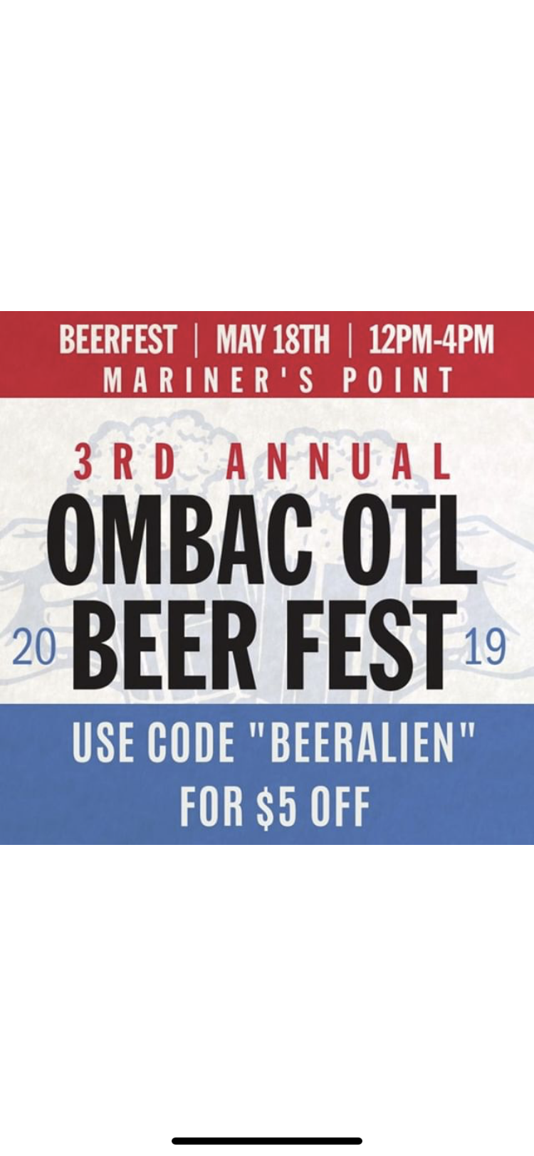 OMBAC's Over The Line (OTL) Discount Code
