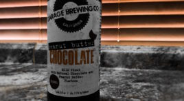 Garage Brewing Chocolate Peanut Butter Milk Stout Beer Review