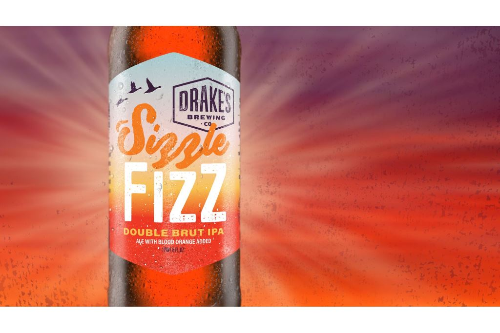 Drake's Brewing Co. Releases Sizzle Fizz Double Brut IPA