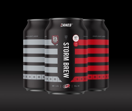 The Official Beer Of The Carolina Hurricanes – STORM BREW